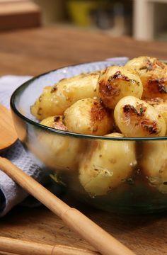 Rosmarinkartoffeln in Honig-Senf-Marinade