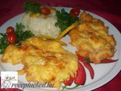 Érdekel a receptje? Kattints a képre! Ital Food, Hungarian Recipes, My Recipes, Poultry, Cauliflower, Bacon, Turkey, Dishes, Chicken