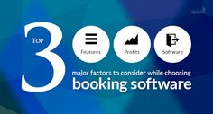 Booking software plays a critical role in creating any kind of booking website.