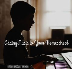 Adding Music to Your Homeschool {Episode 89}   The Homeschool Sisters Podcast Benefits Of Homeschooling, Homeschool Curriculum Reviews, Music Lessons For Kids, Add Music, Music Backgrounds, Music Activities, Composers, Teaching Music, Home Schooling