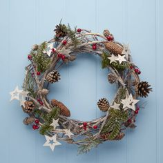 I've just found Twig Star Christmas Wreath. Twig star Christmas wreath.. £30.00