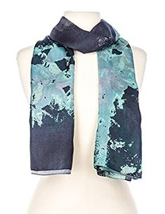4bc2a5a07 Noble Mount Women's Premium 100% Silk Scarf Review. Fashion ScarvesScarf ...