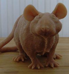 Work in progress rat sculpture Rats, Dinosaur Stuffed Animal, Sculpture, Gallery, Life, Animals, Animales, Roof Rack, Animaux