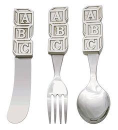ABC Handle Cutlery Set Child