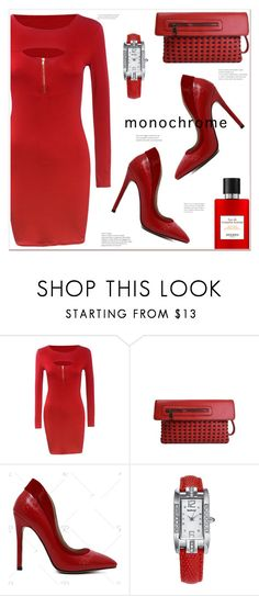 """""""One Color, Head to Toe"""" by mycherryblossom ❤ liked on Polyvore featuring Hermès and vintage"""