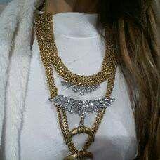 Chain, Jewelry, Fashion, I Found You, Necklaces, Moda, Jewlery, Jewerly, Fashion Styles