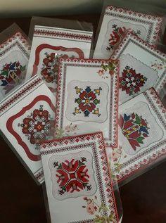 Creative Embroidery, Folk Embroidery, Cross Stitch Embroidery, Cross Stitch Cards, Cross Stitch Samplers, Cross Stitching, Pressed Flower Art, Bulgaria, Fiber Art