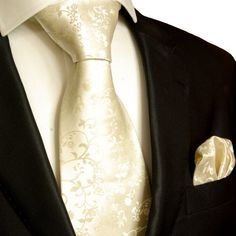 Mens Tie Set 2pcs. champagne wedding Paul Malone 100% Silk tie for men Necktie + Handkerchief Paul Malone Tie Sets, http://www.amazon.co.uk/dp/B004FJYDU0/ref=cm_sw_r_pi_dp_R-vKrb1N84B58