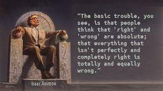 Isaac Asimov - Right Wrong
