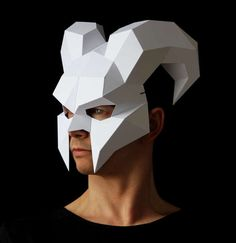 DEMON Mask Perfect for Halloween Make your own devil mask