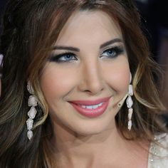 nancy ajram Arab Celebrities, Celebs, Nancy Ajram, Makeup Looks, Make Up, Drop Earrings, Hair Styles, Composers, Inspiration