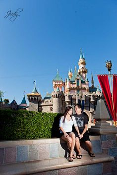 want a classic castle shot- I like this unusual angle