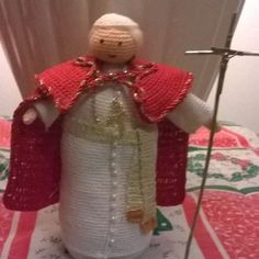 #papa woityla#pope#crochet#amigurumi#uncinetto#minonni silvana