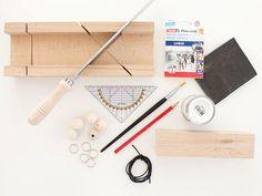 Tutoriel DIY: Fabriquer un porte-clés mural avec des perles en bois via DaWanda.com