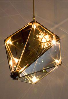 geometric light pendant 3