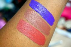 ColourPop So Wavy, Mess Around & Frick n Frack Ultra Satin Lipsticks