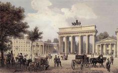 Loillot de Mars, K.: Berlin, Brandenburger Tor von Osten aus