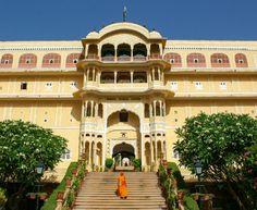 Samode Palace Main Entrance