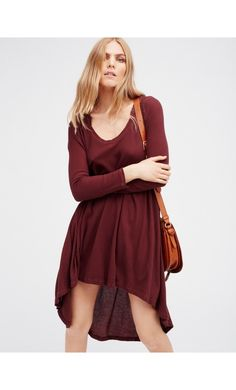 Free People Comfy Hooded Dress Elmwood - Free People  #dresses #womensfashion