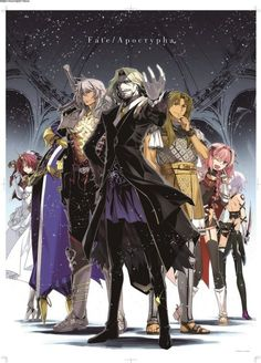Image result for Fate Vlad III and Gudako