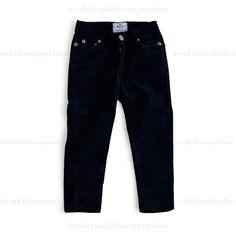 La Miniatura Black 5 Pocket Corduroy Skinny Jeans