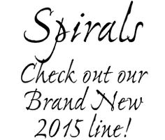 Our New 2014-2015 Spiral Collection Has Arrived!