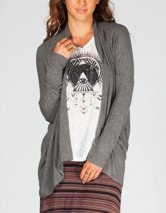 FULL TILT Essentials Womens Wrap Sweater 220873110 | Sweaters & Cardigans | Tillys.com