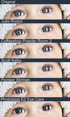 5 Ways to Make Eyes Pop in Photoshop Elements. Also includes a video of Julie Rivera's method