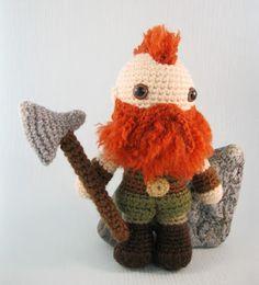 LucyRavenscar - Crochet Creatures: Dwarf amigurumi pattern