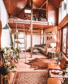 Divider, Loft, Tiny Houses, Bed, Furniture, Home Decor, Home, Small Homes, Decoration Home