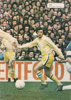 April Dogged by injury, Johnny Giles returned to fitness just at the right time to drag Leeds over the finishing line. The Damned United, Leeds United, Football Jerseys, Soccer, The Unit, Classic, Fitness, 1970s, Sports