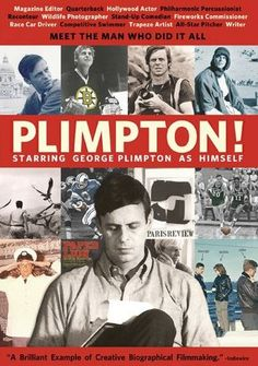 In this sensational tale of one of the greatest storytellers in history, George Plimpton's astounding journalism career is captured in heartwarming footage and intimate personal interviews. 86 min. http://highlandpark.bibliocommons.com/search?utf8=%E2%9C%93&t=smart&search_category=keyword&q=plimpton+poling&commit=Search