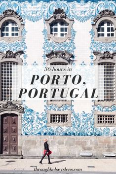 36 Hours in Porto, Portugal. Includes what to do, Porto restaurants, port wine tasting and much more. Eurotrip, Portugal Vacation, Portugal Travel Guide, Portugal Trip, Algarve, Tenerife, Uber Ride, Road Trip, Lisbon Portugal
