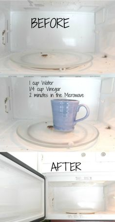 How To Clean Your Microwave Without Chemicals Or Elbow Grease Living Chic Mom
