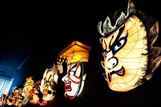 Faces of Nebuta Matsuri: The floats of Nebuta Festival in Aomori, Japan