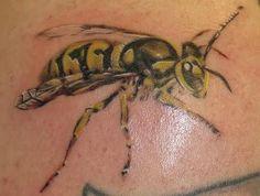 Bug Angry Tattoo