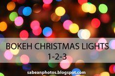 Lynne Guimond Sabean Photography: Bokeh Christmas Lights 1-2-3