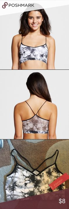 NWT The perfect bralette size M Just when you thought there was no such thing as an ultra-comfy bra that feels like a soft tank, this Xhilaration Women's Seamless Bralette comes along. Made of a stretchy nylon-spandex blend, this bra is completely seamless and wireless, pulling on easily, with no clips or clasps. This bralette, which is perfect for lounging sleeping and everything in between, has super-thin straps, a breathable mesh back and a smooth front with full coverage. Machine wash…