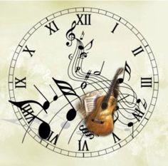 LÁMINAS VINTAGE,ANTIGUAS,RETRO Y POR EL ESTILO.... (pág. 279) | Aprender manualidades es facilisimo.com Paper Clock, Clock Art, Diy Clock, Blank Clock Faces, Vintage Prints, Vintage Posters, Music Clock, Decoupage Vintage, Moon Art
