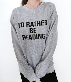 Sweatshirts jumper sweater funny fashion cute hipster geek nerd books lover gifts http://fancytemplestore.com