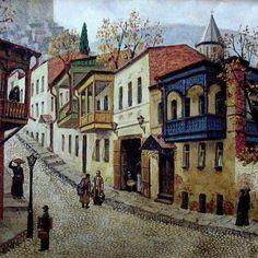 Jovani Vepkhvadze. «Corner of Tiflis». Джованни Вепхвадзе. «Уголок Тифлиса». #georgia#saqartvelo#sakartvelo#art#сакартвело#arts#painting#nature#tbilisi#искусство#грузия#кавказ#vsco#vscogeorgia#vscorussia#tbilisi#love#inspiration#colors#вдохновение#тбилиси#любовь#красота#живопись#батуми#batumi#picasso#dali#pirosmani#картины#галерея