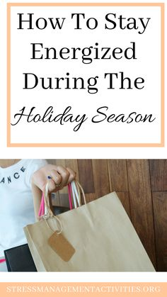How to stay energized during the holiday season. How to have a stress free holiday! Stress Free, Stress Relief, Feeling Fatigued, Holiday Stress, Health Anxiety, Big Meals, Positive Outlook, Eat Smart, Holiday Dinner