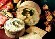 ❤❤❤ French Decor Hat Box ❤❤❤