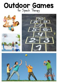 5 Awesome Outdoor Games for Speech Therapy