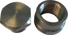 Stainless Steel Oxygen Sensor weld on Nut & Bung, 18mm x 1.5 thread