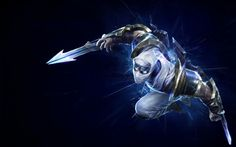 Zed Shockblade League of Legends HD Wallpaper _n_3_k_y