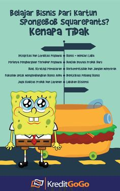 Belajar bisnis dari SpongeBob kenapa tidak? Study Motivation Quotes, Study Quotes, Business Motivation, Life Motivation, Business Tips, Business Entrepreneur, Financial Quotes, Financial Tips, Bisnis Ideas