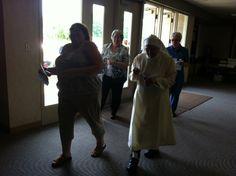 procession in prayer