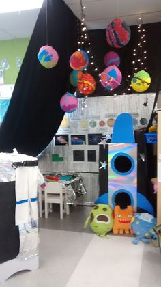 Arts And Crafts With Wood Refferal: 9405933004 Solar System Crafts, Solar System Planets, Space Theme Preschool, Preschool Science, Space Classroom, Classroom Decor, Preschool Classroom, Easy Canvas Painting, Painting For Kids