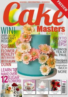 April Cake Masters Magazine 2014 - Miniature Modelling Cupcake Special!  - Interview: Mimicafe Union - Interview Buttercream Bakery - Cake International SPECIAL  - Miniature Dessert Tutorial from Buttercream Bakery - Brighton - Beach Cupcakes Tutorial from The Clever Little Cupcake Company - Delicious Cupcake Recipes - Afternoon Tea at The Ritz London - Cake Spaces - Cupcake Spotlight - Miniature Modelling Special Showcase!  +MUCH MORE!